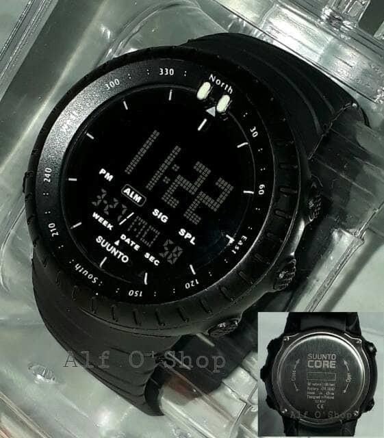 jual Jam tangan pria murah SUUNTO CORE black