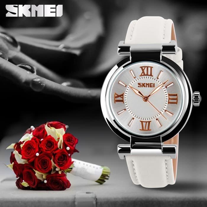 jual SKMEI Fragrant 9075 Putih Original Jam Tangan Import Murah Tahan Air