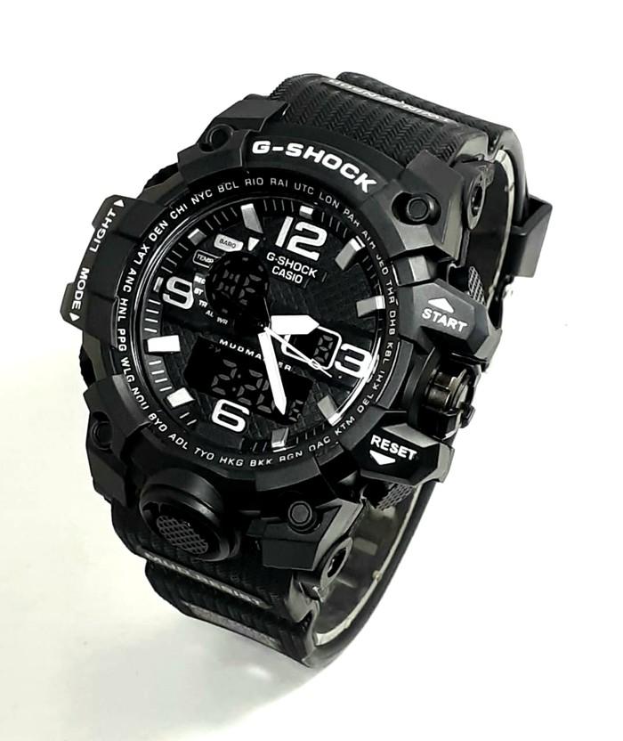 jual Jam tangan Casio pria/Cowok G SHOCK GWG1000 black lisd white