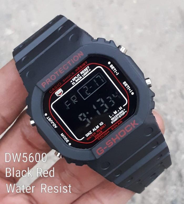 jual Jam tangan pria & wanita G Shock GS1002 black losd red