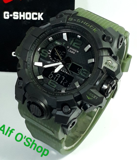 jual Jam tangan Casio pria/cowok murah G Shock GWG1000 black army