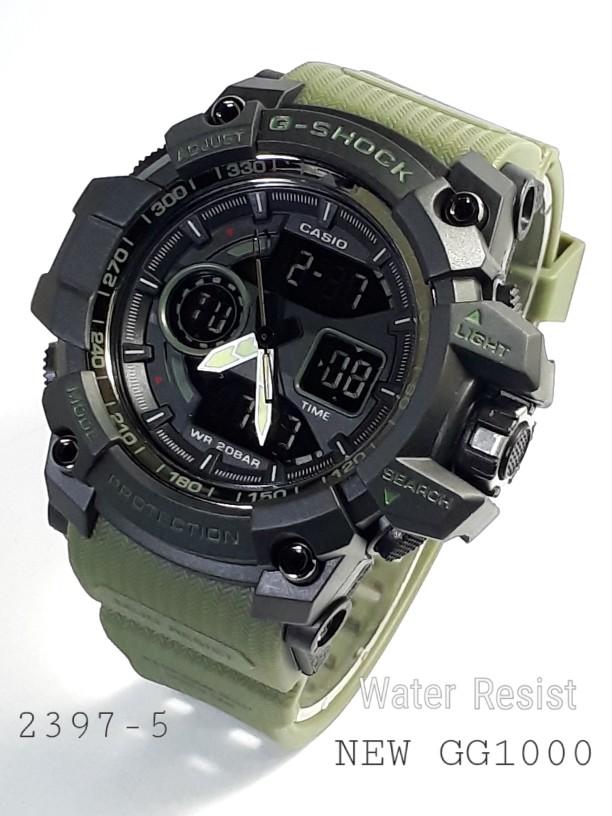 jual Jam tangan G Shock water resist buat berenang sesuai gambar greenblack
