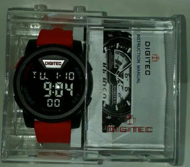 jual Jam tangan DIGITEC original black red