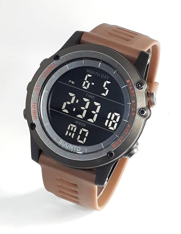 jual Jam tangan sport digital new SUUNTO core brown black