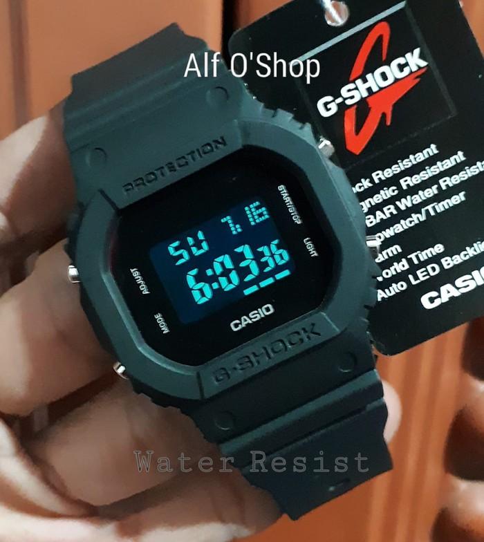 jual Jam tangan Water Resist G Shock DW5600 fullblack