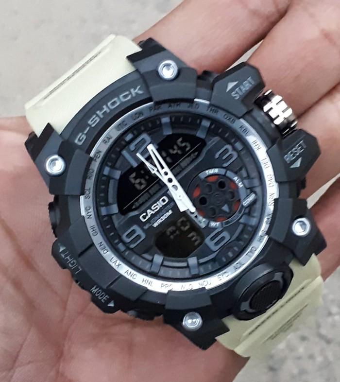 jual Jam tangan Casio pria murah G Shock GG1000 black cream