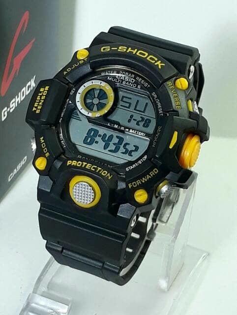 jual Jam tangan pria murah G-SHOCK Rangeman GW9400 black lisd yellow