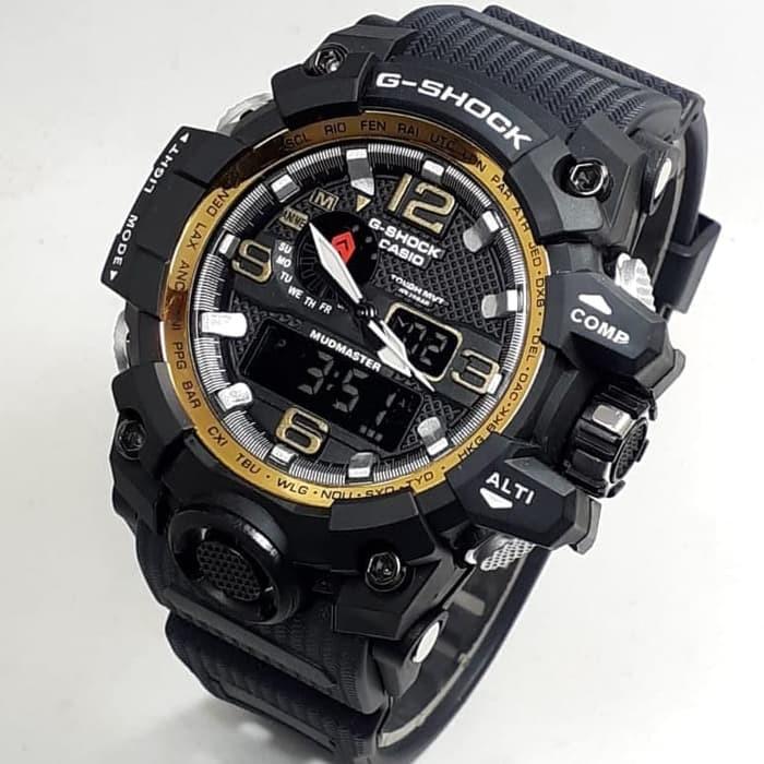 jual Jam tangan SPORT G-SHOCK G Shock GWG1000 black gold