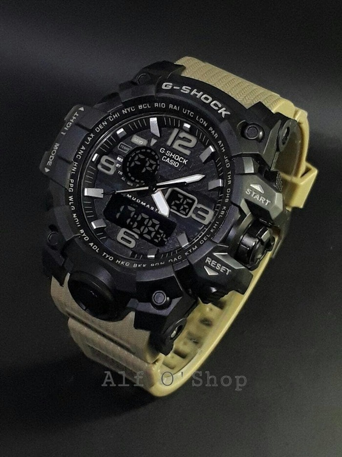 jual Jam tangan SPORT G-SHOCK G Shock GWG1000 black cream