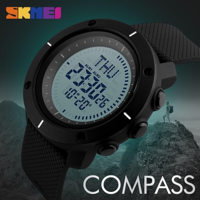 jual SKMEI Compass 1216 Original - Jam Tangan Sport Outdoor Elite Anti Air