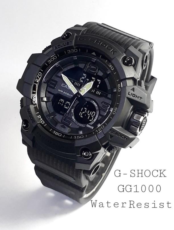 jual Jam tangan Sport G Shock GG1000 1A fullblack