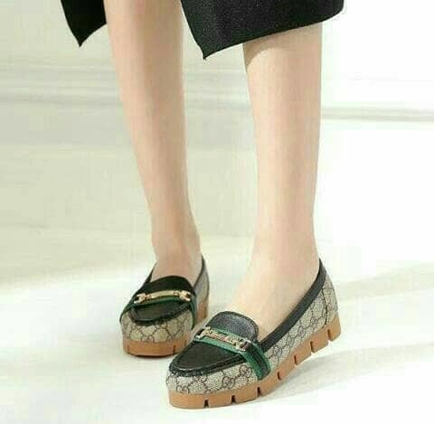 jual Sepatu Wanita Flat Shoes SDB83 - Hitam, 37