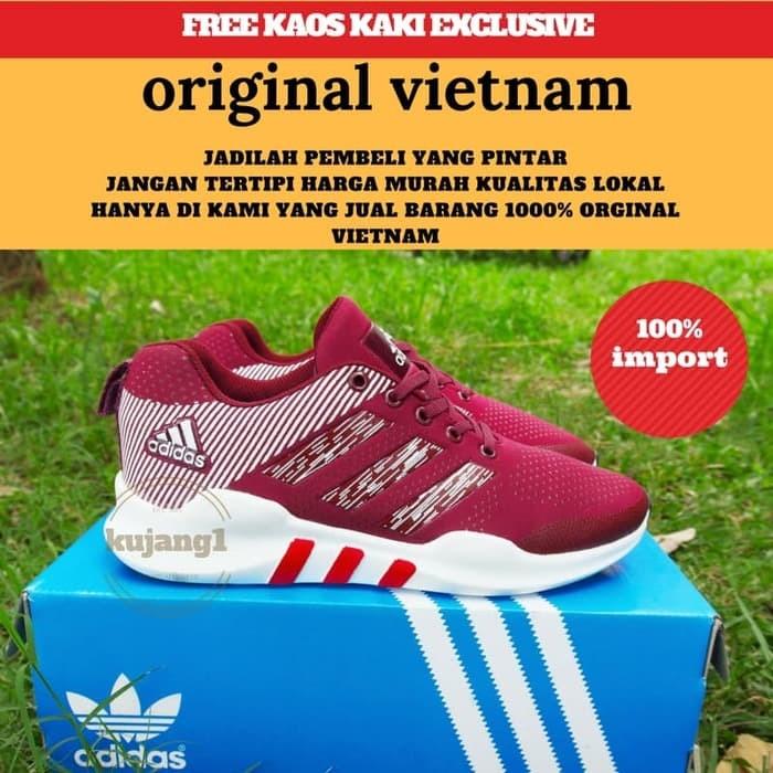 jual ADIDAS EQT SPORT / Sepatu Olahraga Pria Running Lari Grade Original