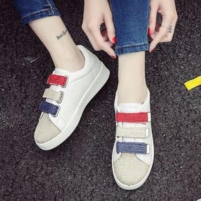 jual Sepatu Wanita Kets Casual SDS208