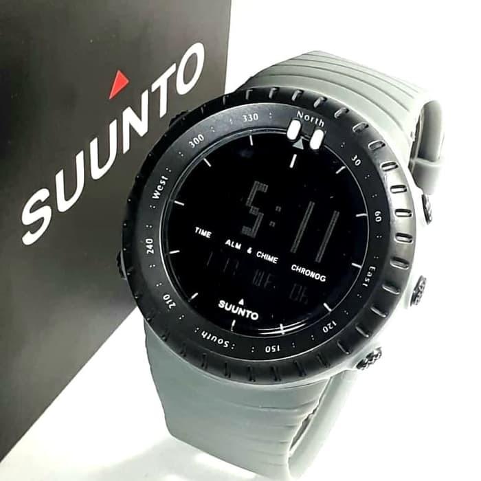 jual Jam tangan sport digital SUUNTO gray