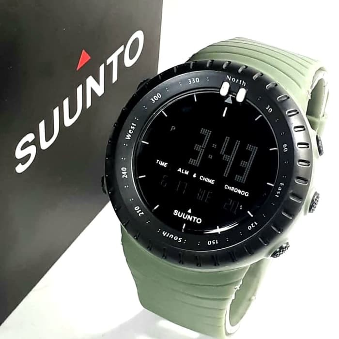 jual Jam tangan sport digital SUUNTO green