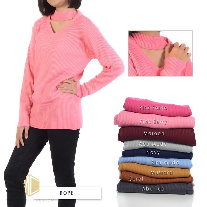 jual Rope knit sweater BEST SELLER  | SWEATER RAJUT | BAJU RAJUT | RAJUTAN