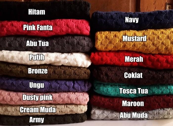 jual Nanas sweater | sweater rajut | baju rajut | rajutan | grosir sweater