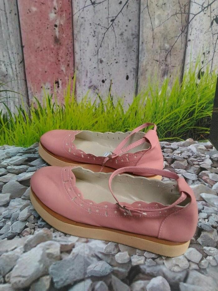 jual Sepatu Wedges Flatform SDW247 - cream, 37