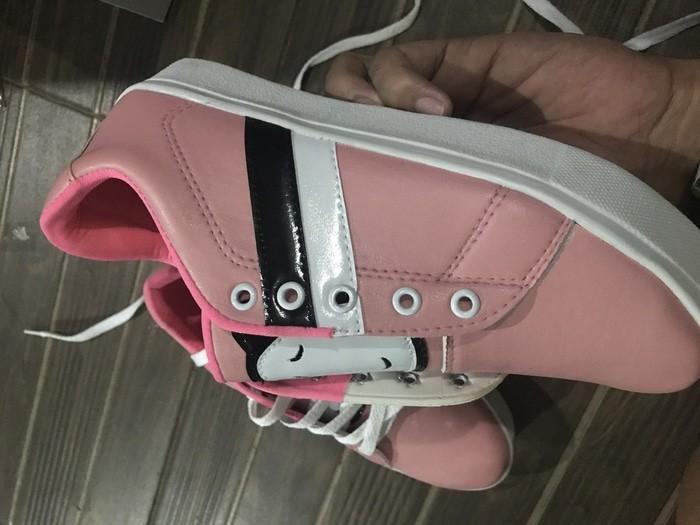 jual Sepatu Wanita Kets Casual Panda SDS198 - Pink, 37