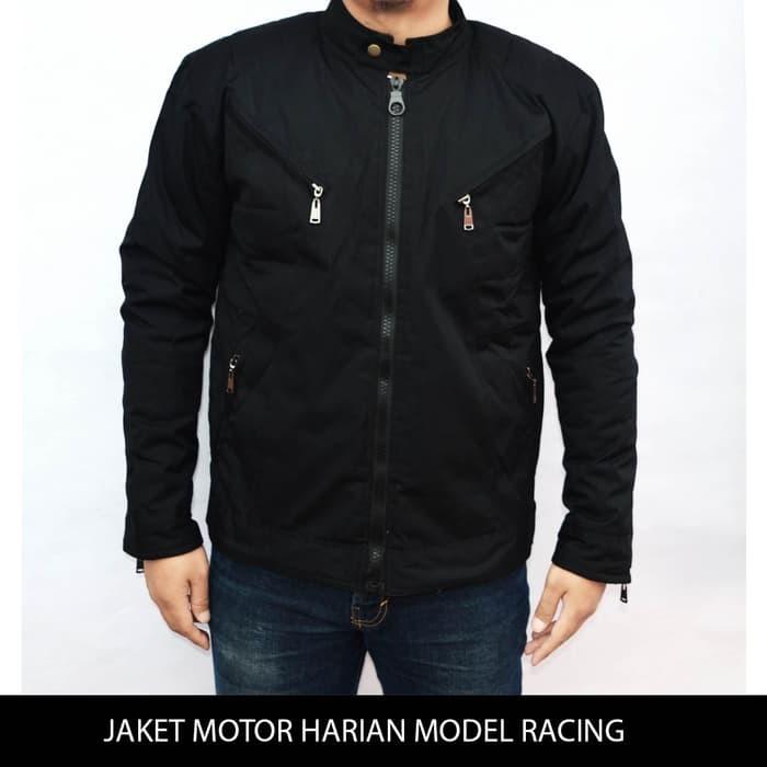 jual Jaket Motor Harian Model Racing Tahan Angin, Anti Air, Bara M-XXL