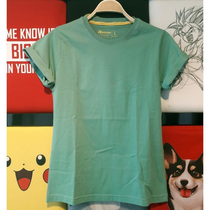 jual Kaos Polos Lengan Pendek Wanita 100% Soft Combed XL XXL XXXL - Nude, XL