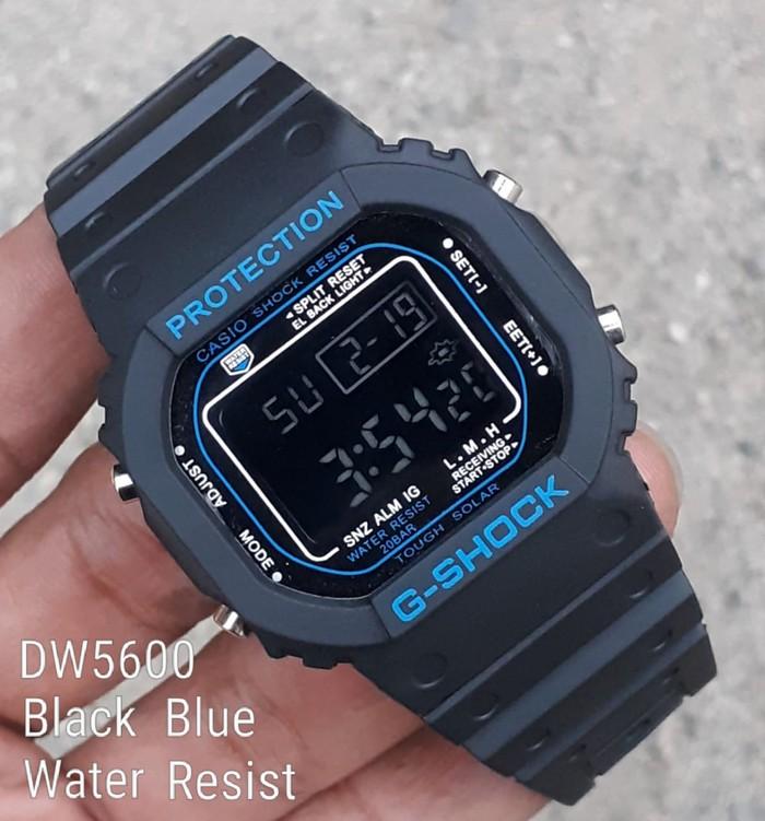jual Jam tangan pria & wanita G Shock GS1002 black blue