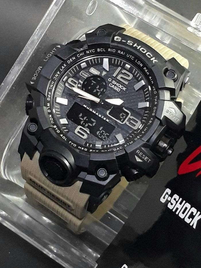 jual Jam tangan SPORT G-SHOCK G Shock GWG1000 black coklat