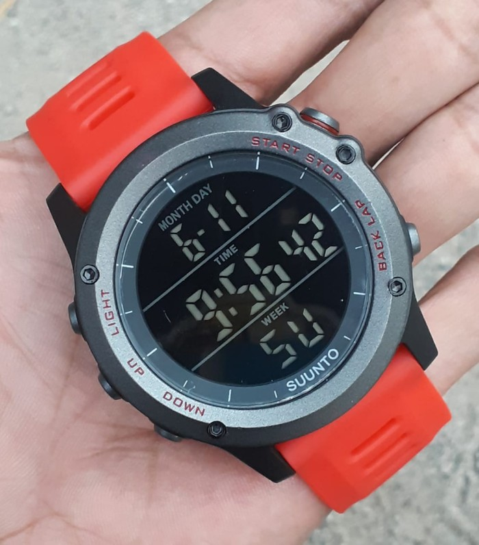 jual Jam tangan digital SUUNTO Core Suunto core Warna persamaan G Shock