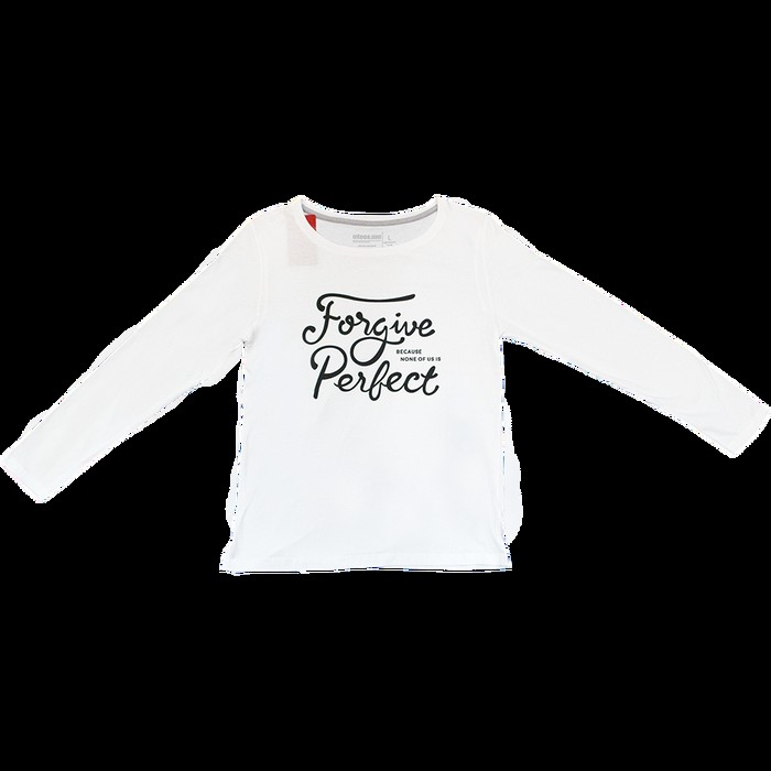 jual Female T-Shirt Long Sleave Forgive Perfect