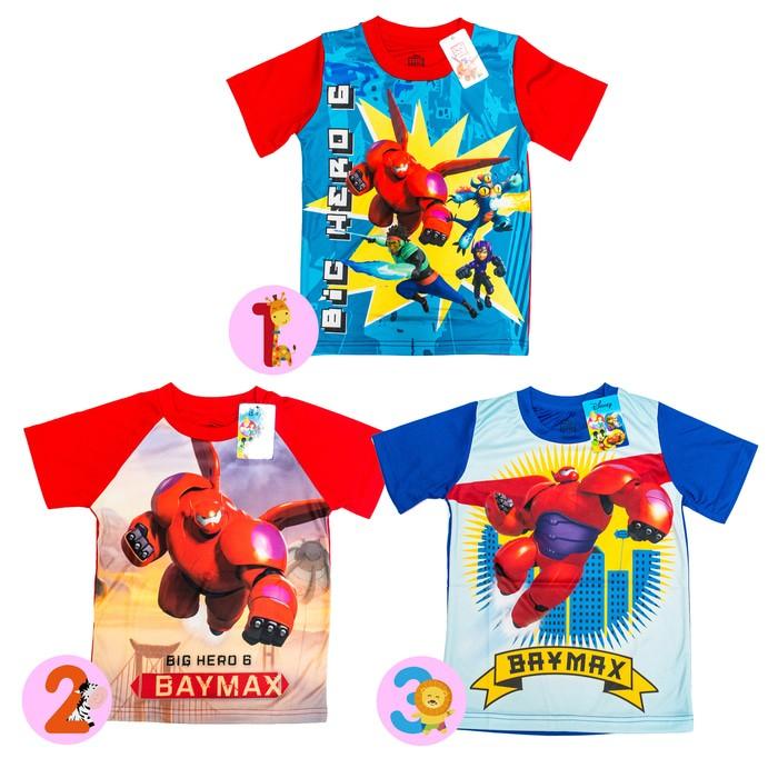 jual Disney ORI Kaos Anak Laki Laki - Big Hero 6 Baymax