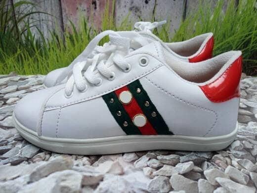 jual Sepatu Wanita Kets Casual Leona SDS224 Putih