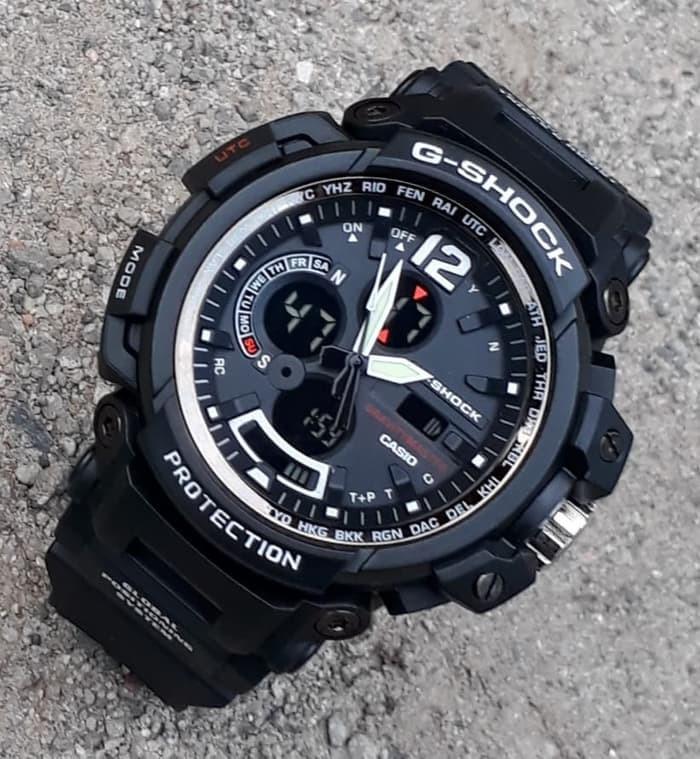 jual Jam tangan SPORT New G-SHOCK G Shock GPW2000 pilihan warna black