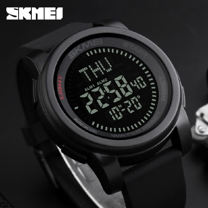 jual SKMEI Compass 1289 Original - Jam Tangan Pria Sport Outdoor Anti Air