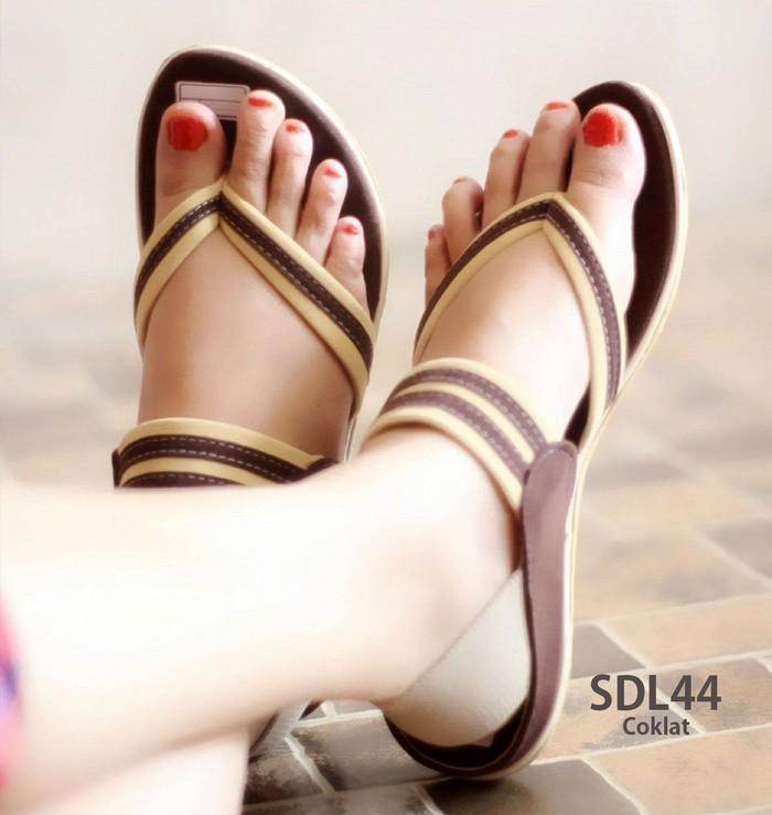 jual Sandal Wanita Tali Jepit | Sepatu Sendal Cewek SDL44