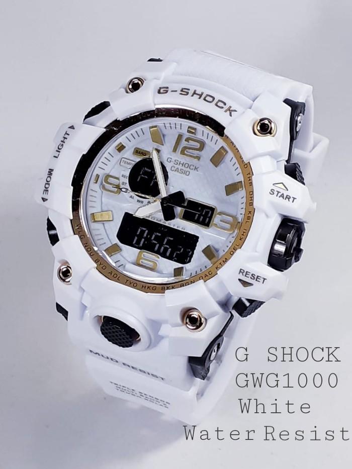 jual Jam tangan G Shock water resist buat berenang sesuai gambar blackwhite