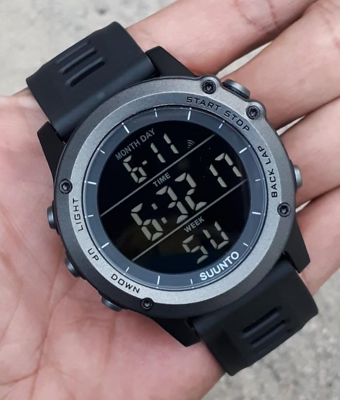 jual Jam tangan sport digital new SUUNTO core full black