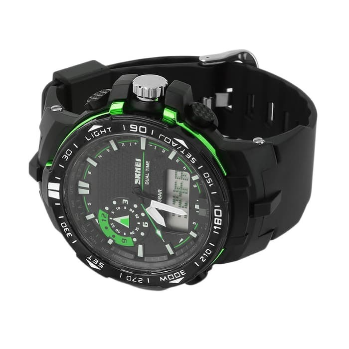 jual SKMEI Sport Watch 1081 Original Water Resistant 50M - Green