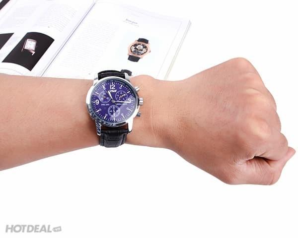 jual SKMEI Fashion Watch 9070 Original Water Resistant 30M - Brown Strap