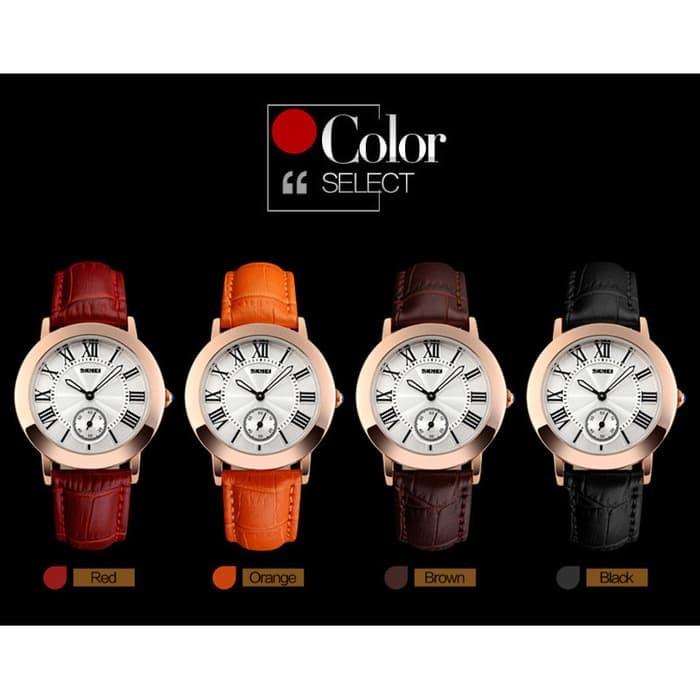 jual SKMEI Woman Fashion Watch 1083 Original Water Resistant 30M - Red - Merah