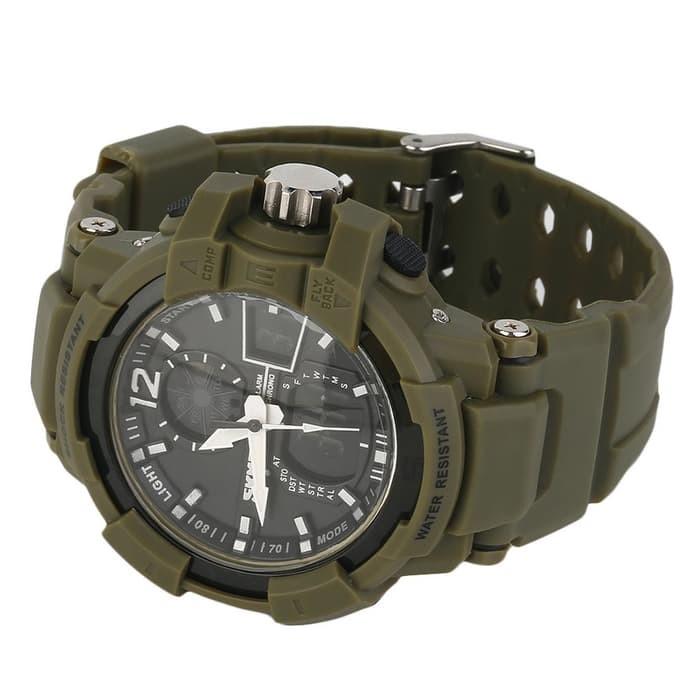 jual SKMEI Military Sport Watch 1040 Original Water Resistant 50M - Army