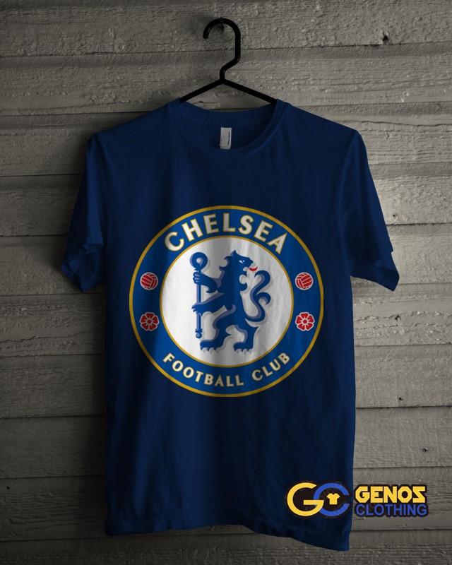 jual TSHIRT DISTRO Kaos Chelsea 1 (Lengan Pendek) - Baju Bola Pria Wanita