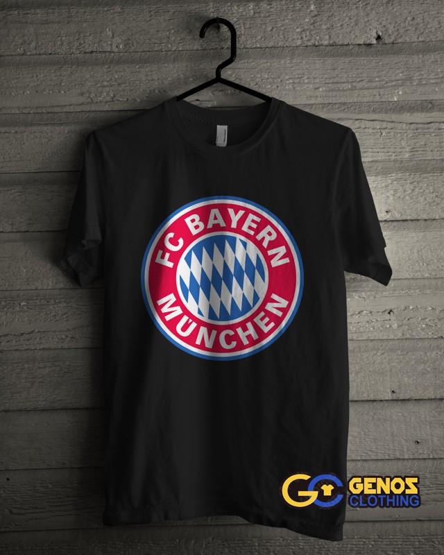 jual TSHIRT DISTRO Kaos Bayern Munchen 1 (Lengan Pendek) - Baju Pria Wanita