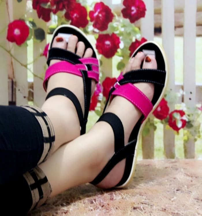 jual Sandal Wanita Flip Flop | Sendal Cewek Cantik SDL54