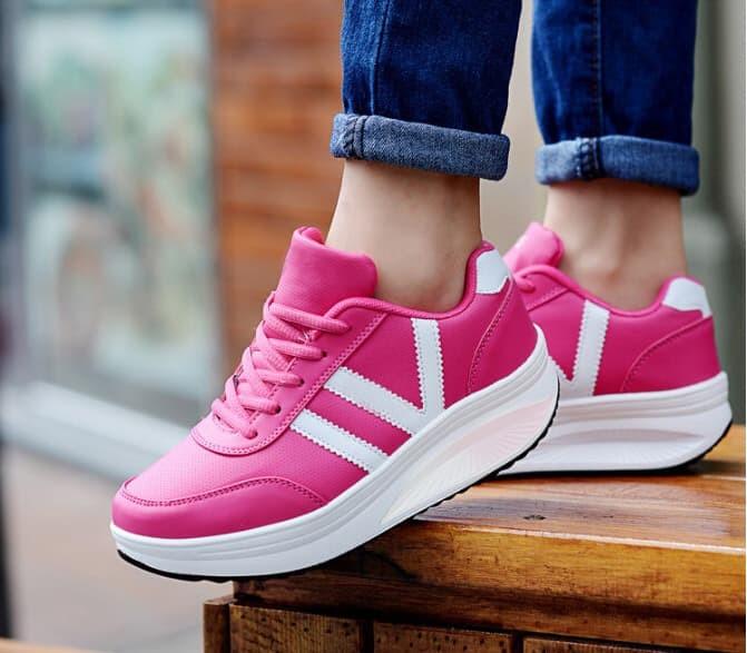 jual Sepatu Wanita Kets Casual VI SDS112