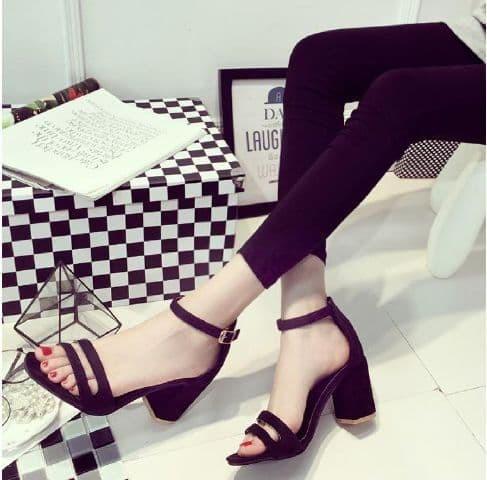 jual Sandal High Heels Wanita/Sepatu Sendal Wanita SDH21