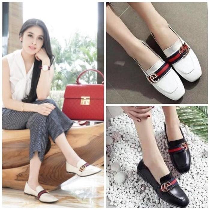 jual Sepatu Wanita Flat Shoes SDB85
