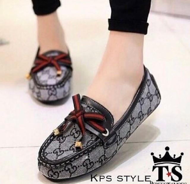 jual Sepatu Flat Shoes Wanita SDB90 - ABU, 37