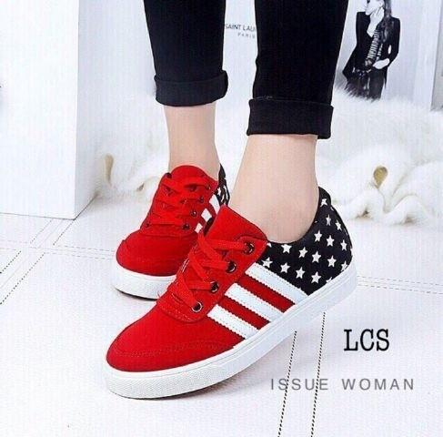 jual Sepatu Kest Wanita Motif Bintang SDS111