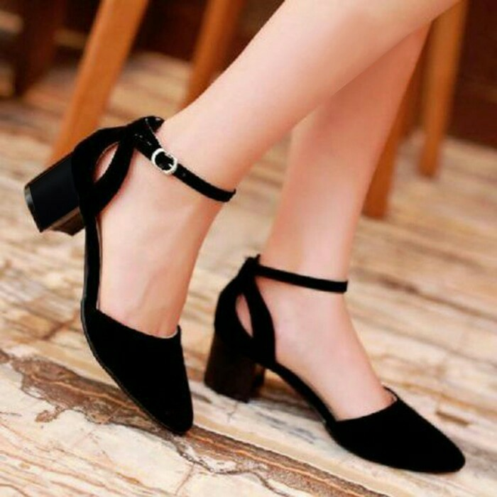 jual Sepatu Sandal High Heels Wanita / Sendal Cewek SDH17
